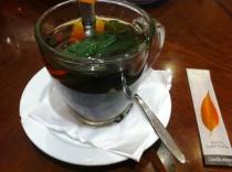 dinner tea