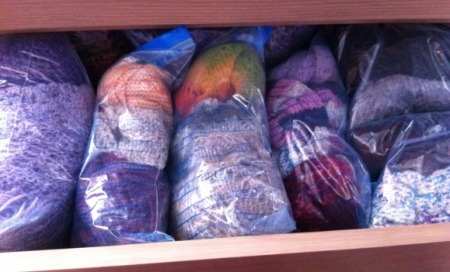 Knit drawer