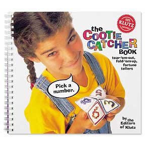 cootie_catcher book