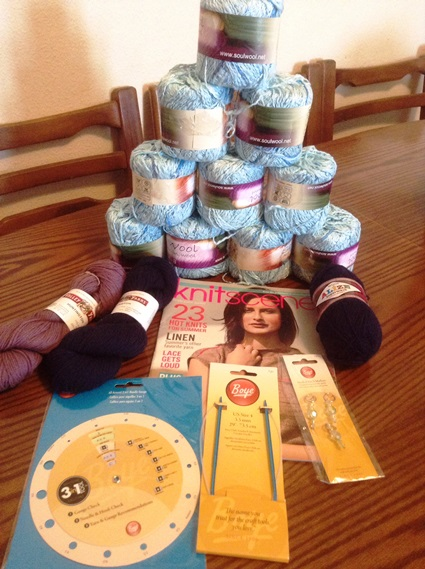 knitting prize - blanket