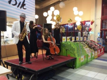 supermarket orchestra