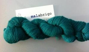 malabrigo lace emerald